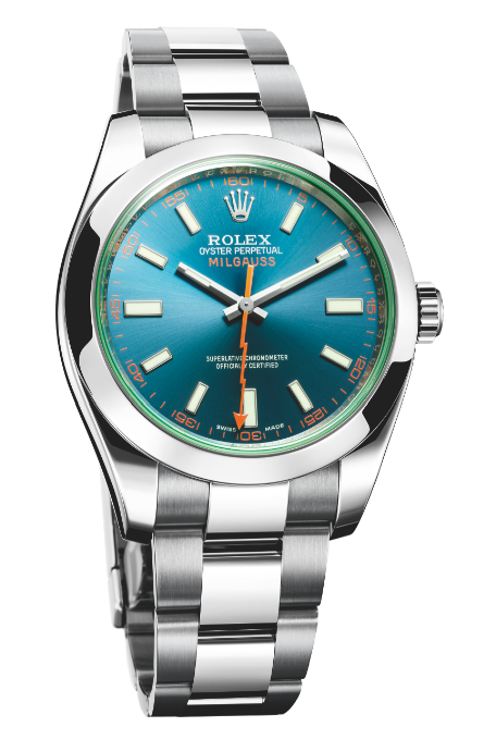 Rolex Oyster Perpetual Milgauss.