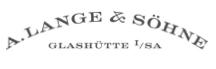 A LANGE SOHNE