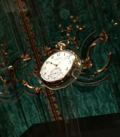 Vacheron Constantin Chronometre Royal propiedad del Museo Nacional, cedido por el Patrimonio de la Manufactura.