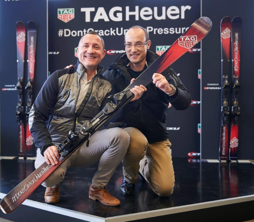 AA Skis TAG Heuer Stoeckli Picture of the day LD