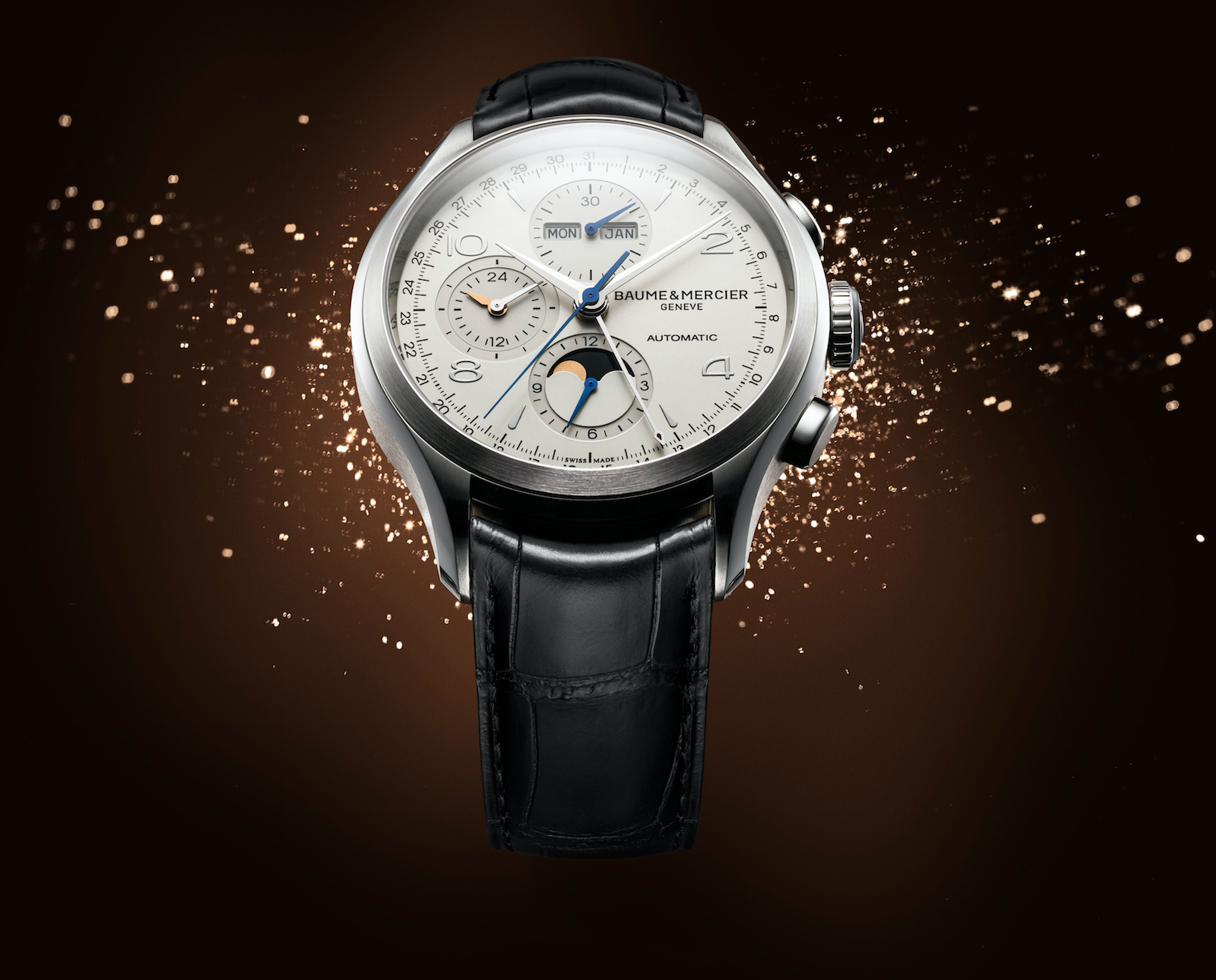 Baume et Mercier Clifton Chronograph Calendario Perpetuo