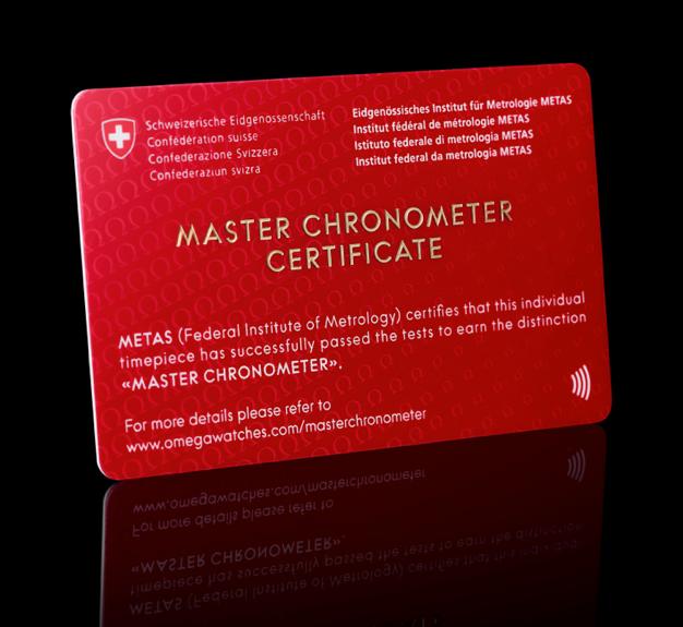 OMEGA MASTER CHRONOMETER METAS 8