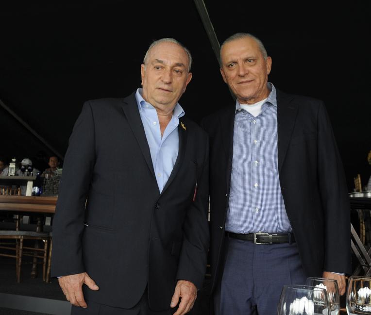 Juan Manuel Cossio y Salvador Cienfuegos
