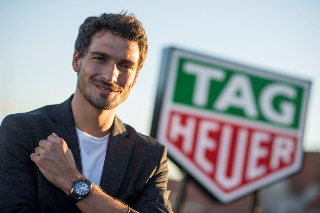 Matt Hummels is TAG Heuer new Ambassador (8)