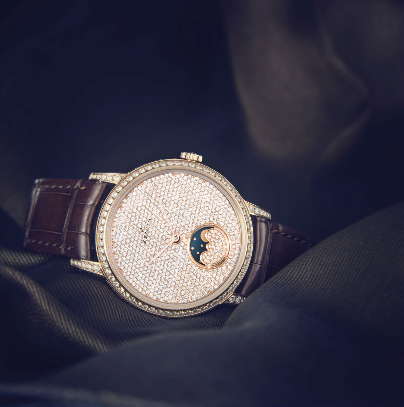 Zenith Elite Lady Moonphase1