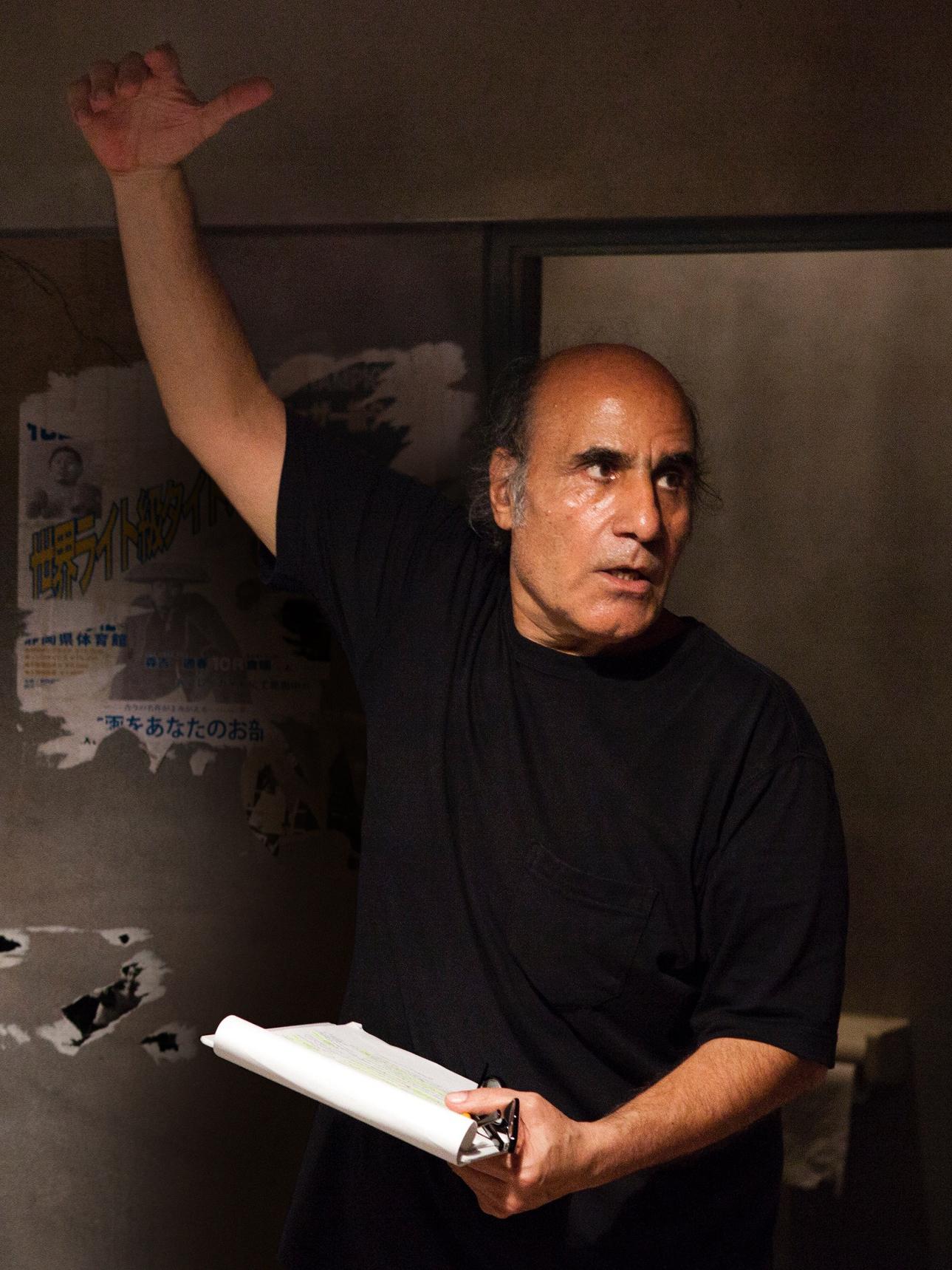 Amir Naderi Director's portrait. Jaeger-LeCoultre Glory to the filmmaker award - copia