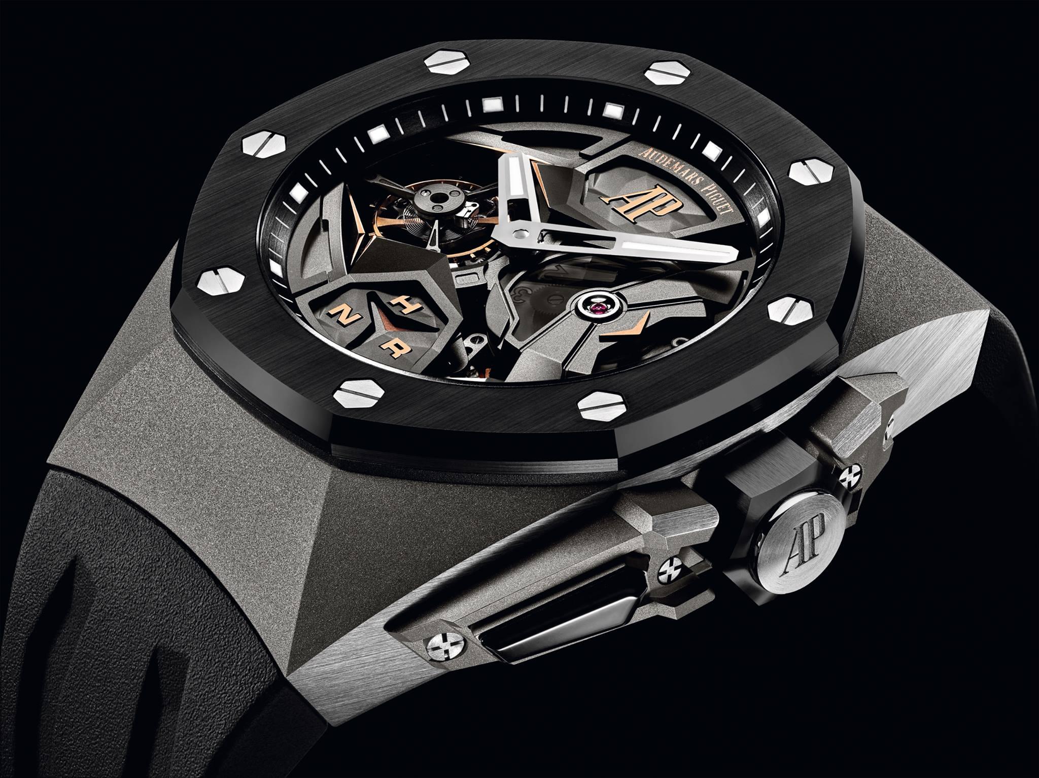 659509b3862d Este año la marca con sede en Le Brassus exhibió un par de relojes  conceptuales bajo la línea Royal Oak. Y llama la atención que