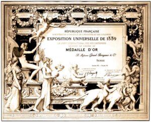 Girard-Perregaux Patente por Tourbillon de 3 puentes de oro