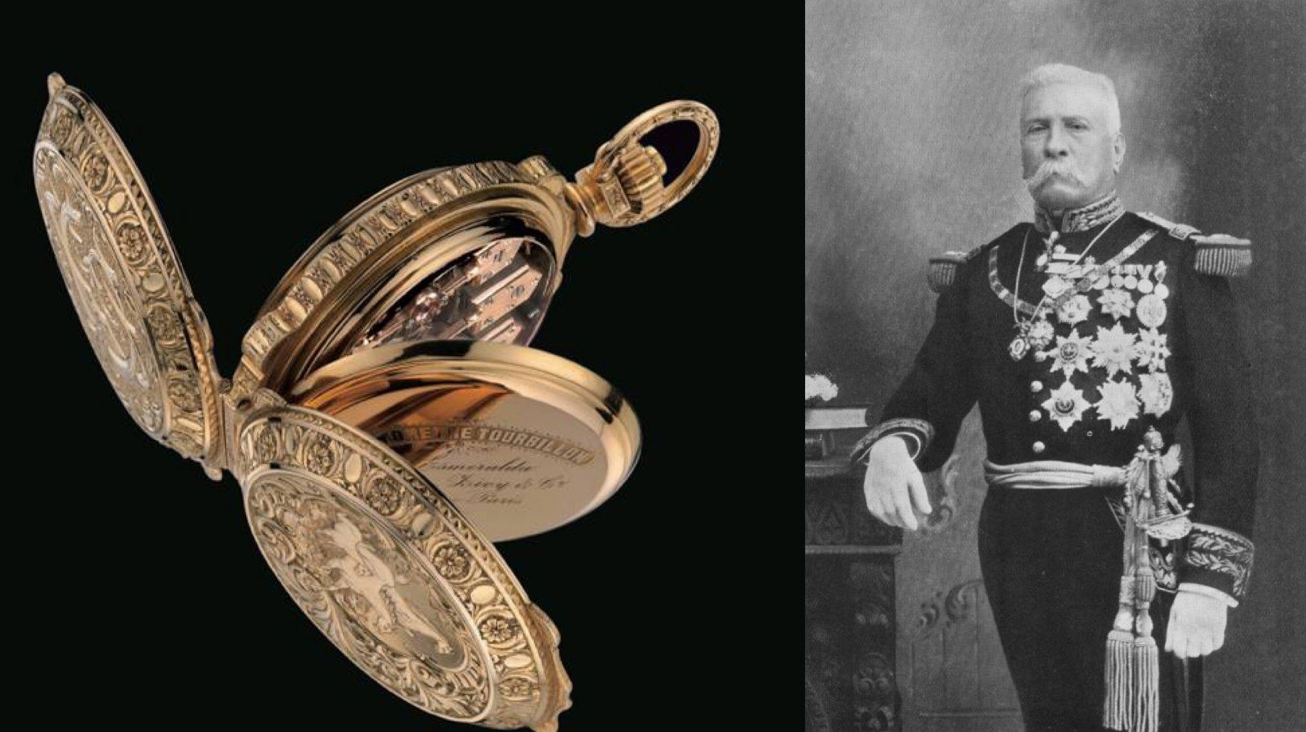 La verdadera historia del reloj de Porfirio Diaz - La Esmeralda de Girard Perregaux