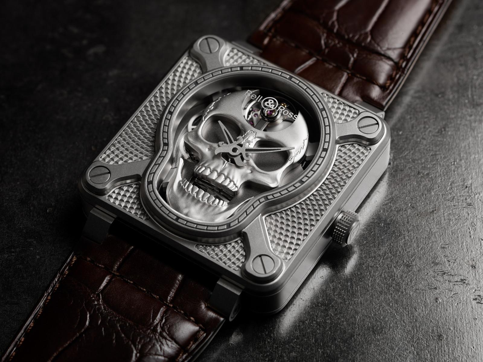 Bell Ross reloj calavera