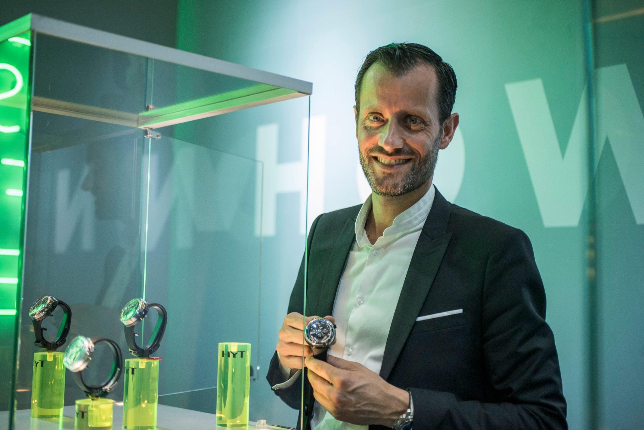 Entrevista con Gregory Dourde, CEO HYT