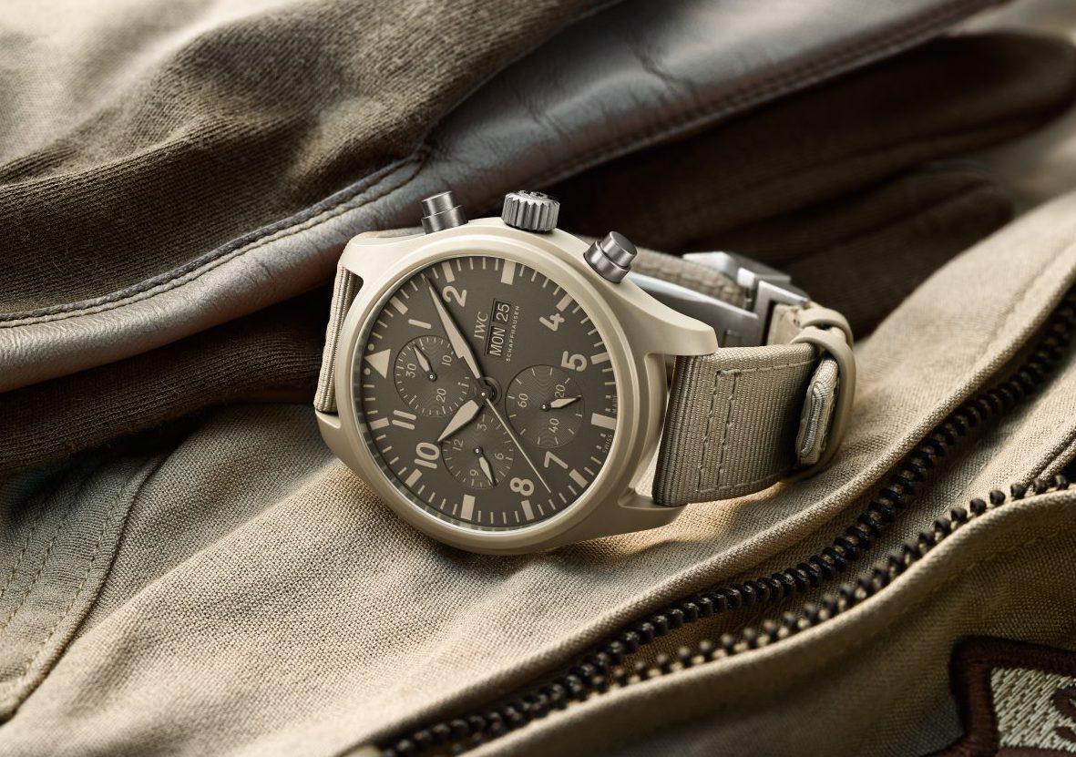 ec8b6fca5a94 IWC Schaffhausen se enfocó este año en relojes inspirados en su legitimidad  de aviación. Dentro de ello destaca la línea Top Gun
