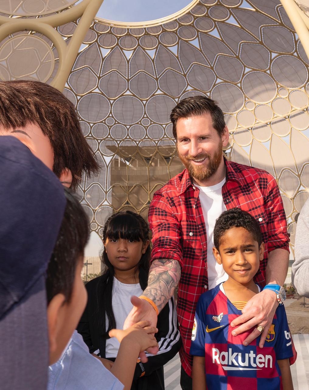 Messi Expo 2020 6
