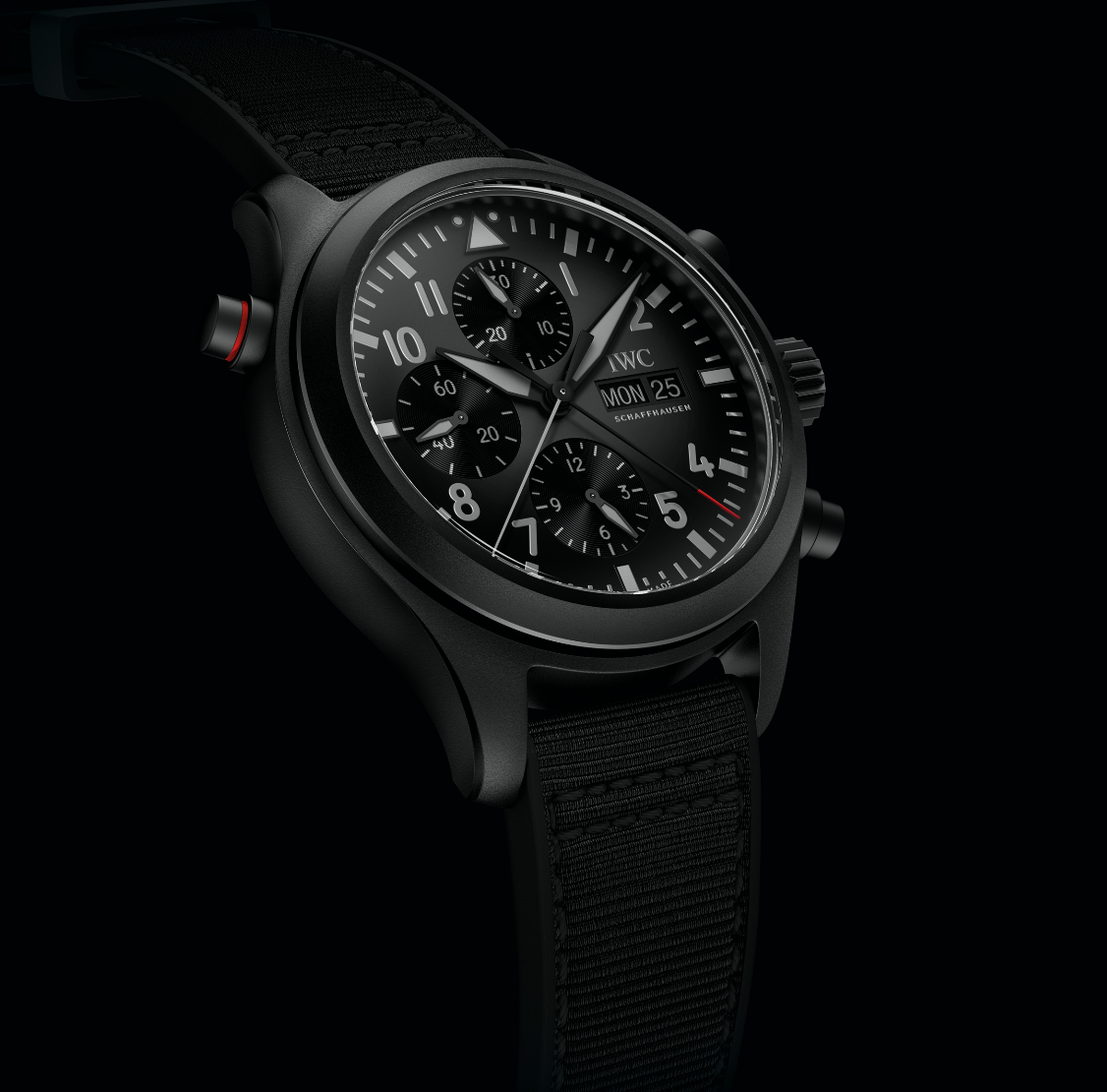 Pilots Watch Double Chronograph Ceratanium