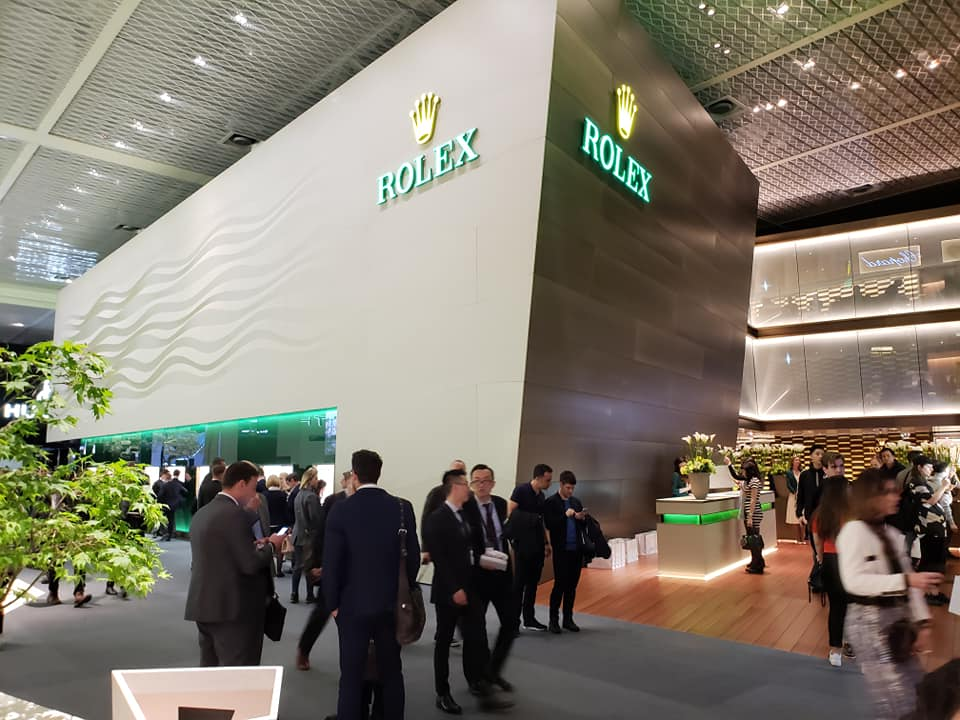 Baselworld-2019-Booths-Rolex
