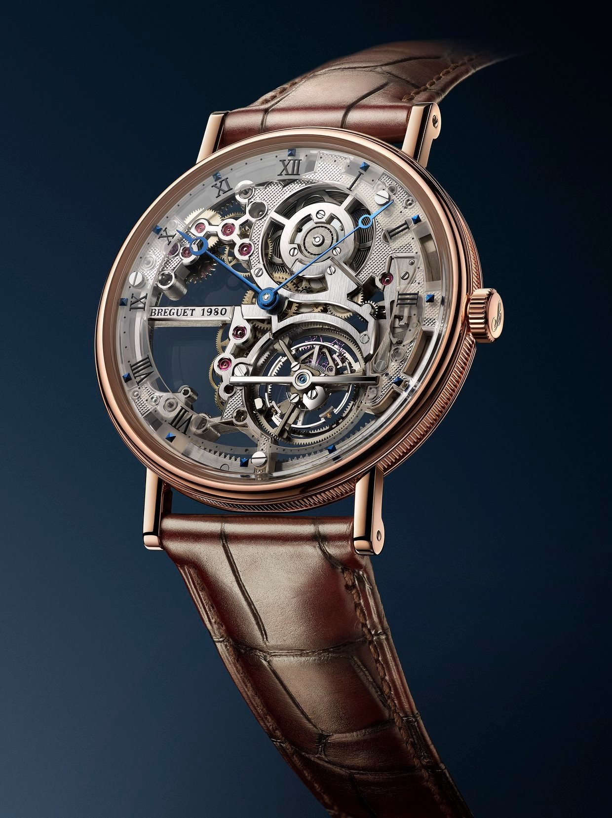 Breguet Classique Grand Complications Time to Move 2019 - Tourbillon Extra Plat Squellette 6