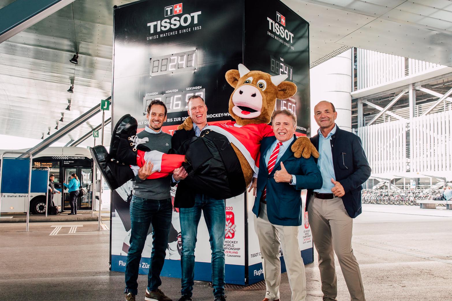 Tissot se anuncia como Cronometrador Oficial del Campeonato Mundial de Hockey Sobre Hielo