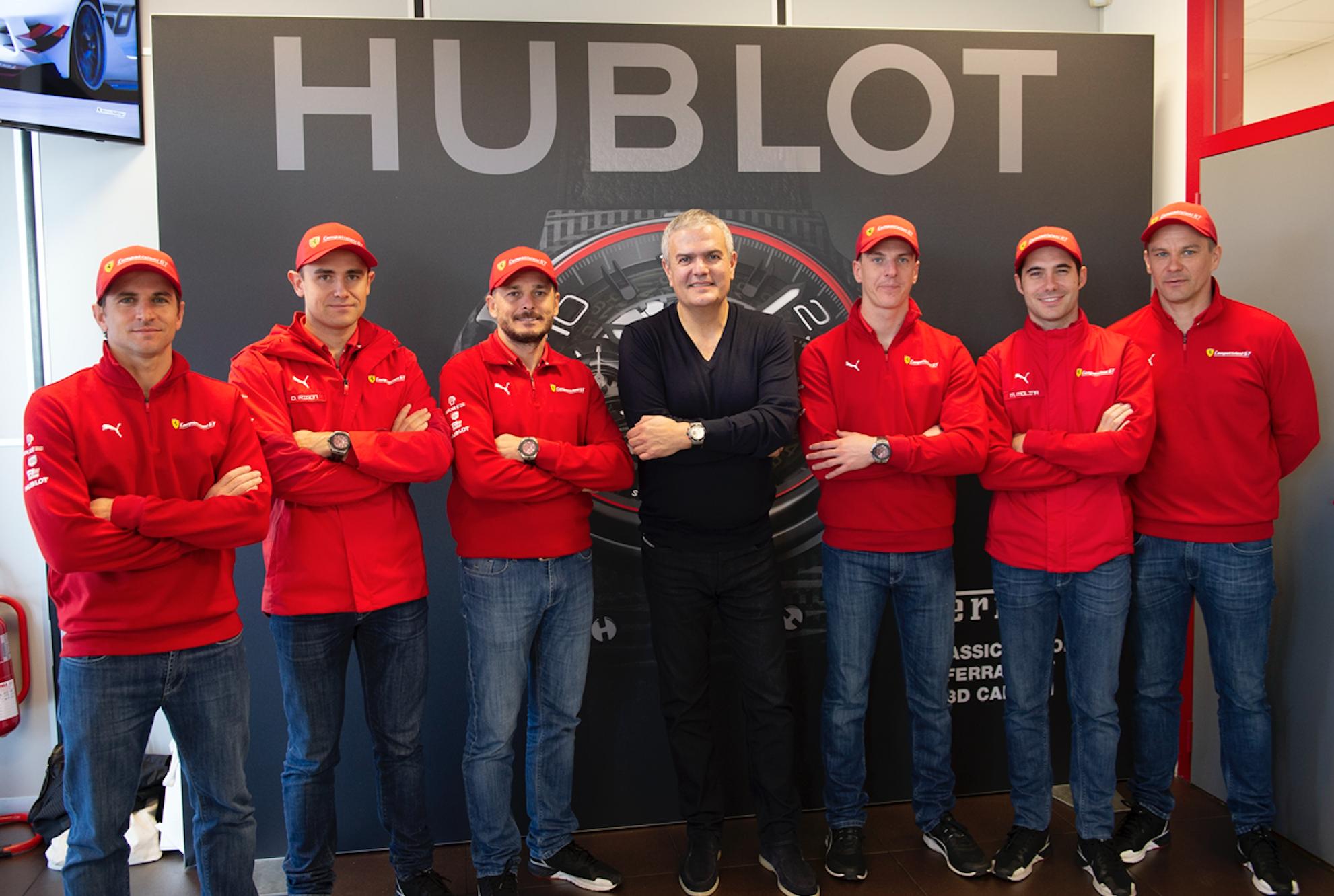 Hublot y Ferrari