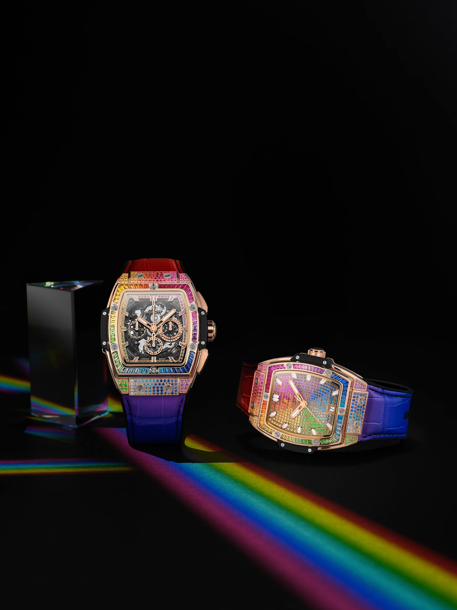 Hublot Dubai Watch Week 2020 - Spirit of Big Bang Rainbow