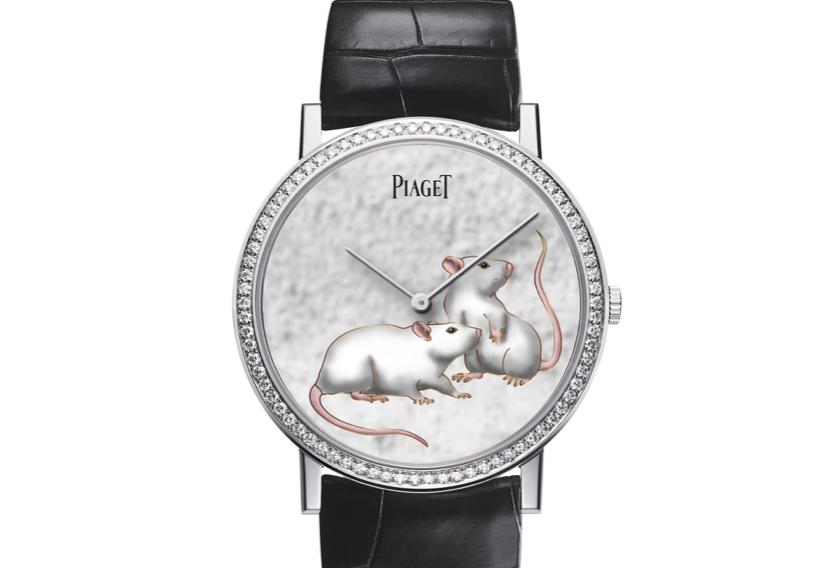 los relojes del año chino de la rata