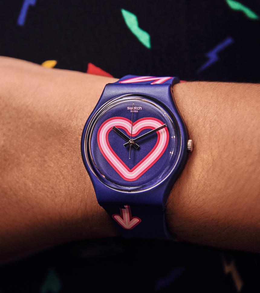 Swatch día de San Valentin y 14 de febrero