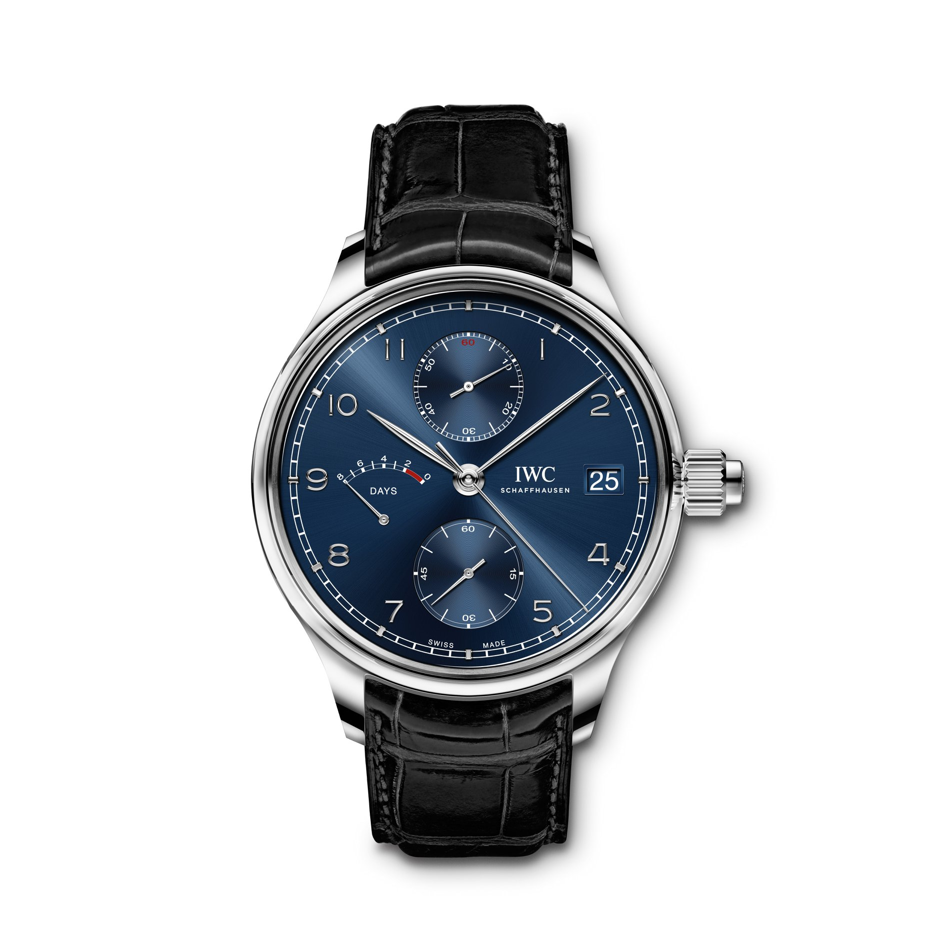 IWC Portugieser Hand-Wound Monopusher Edition Laureus Sport for Good 2020