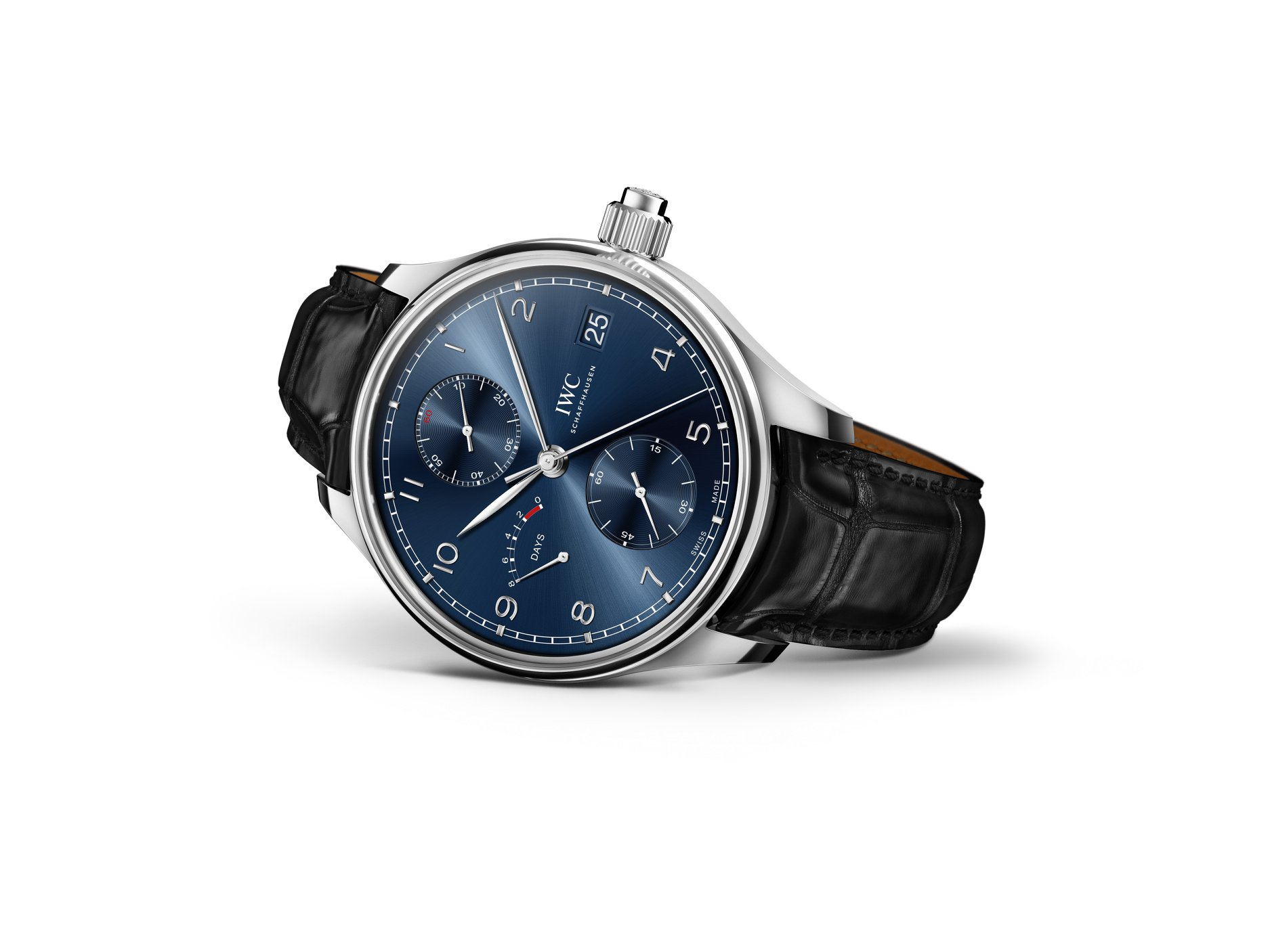 IWC Portugieser Hand-Wound Monopusher Edition Laureus Sport for Good mood