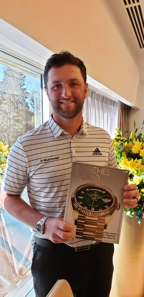 Jon Rahm Rolex entrevista Watches World WGC Mexico 2020