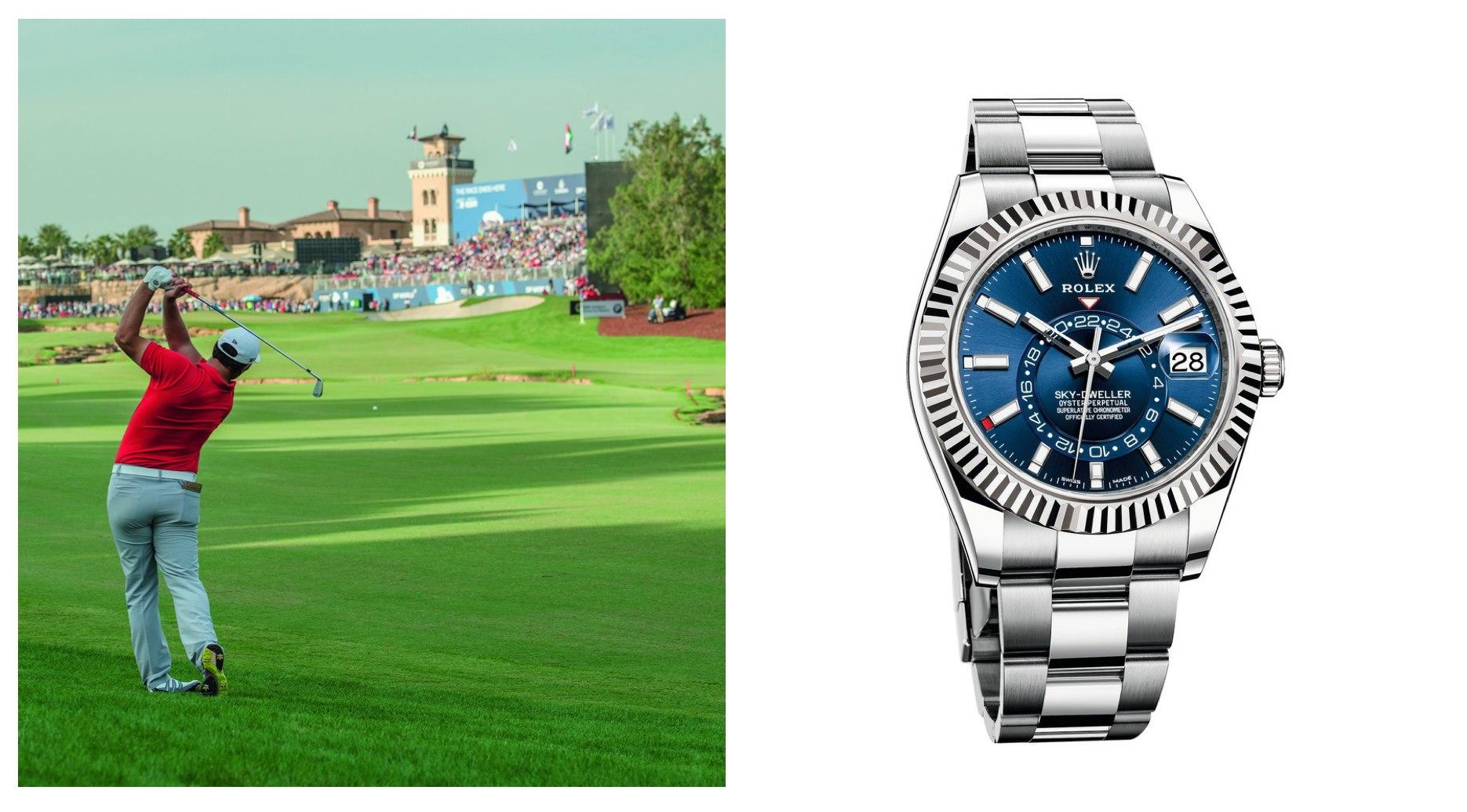 Jon Rahm World Golf Championships Mexico Championship 2020 Rolex