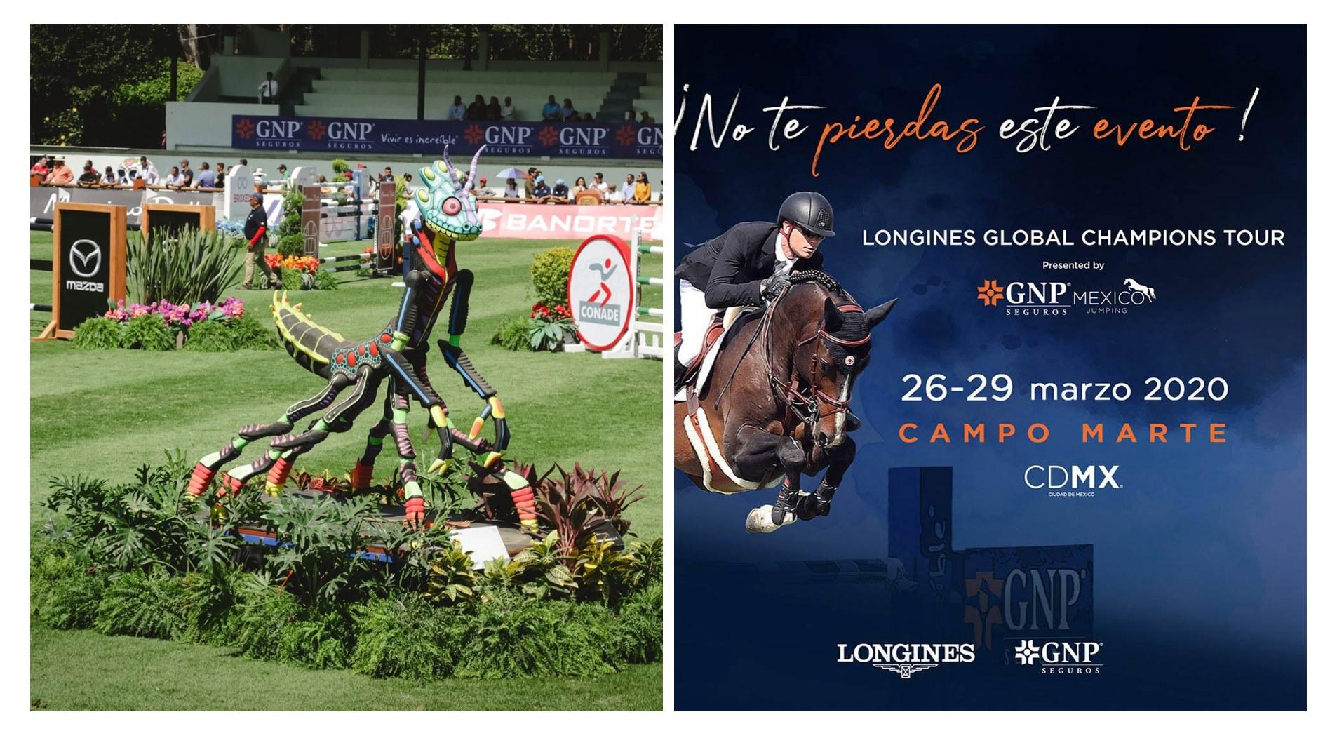 Longines Global Champions Tour Mexicoo 2020- Presentado por GNP Mexico Jumping-todo lo que tienes que saber