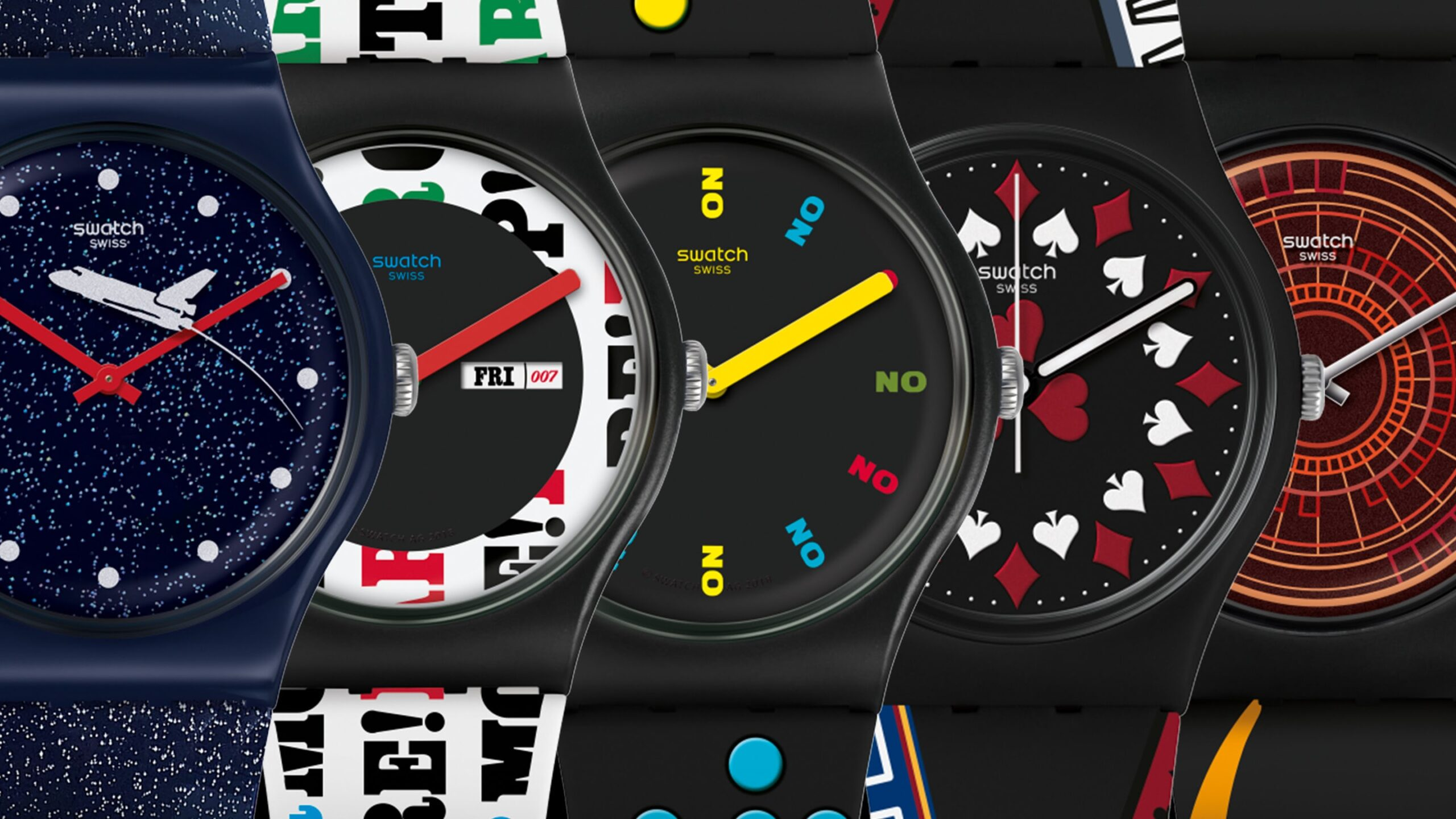 Swatch x 007 - James Bond Watch-2020