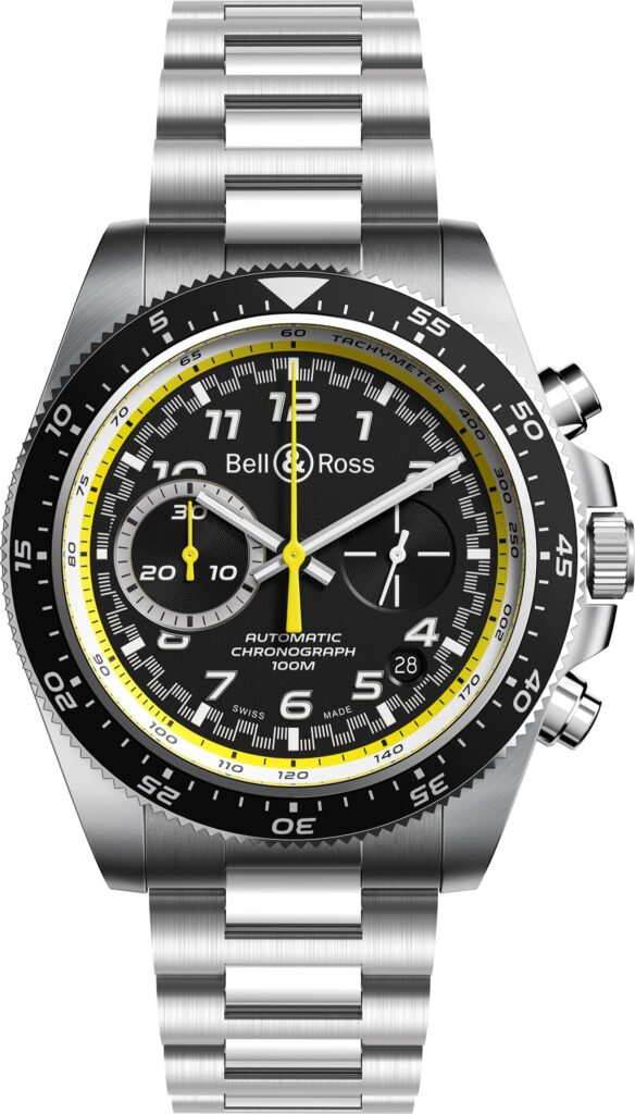 Bell Ross RS 20 Collection - Renault Sport F1 - automatico brazalete de acero