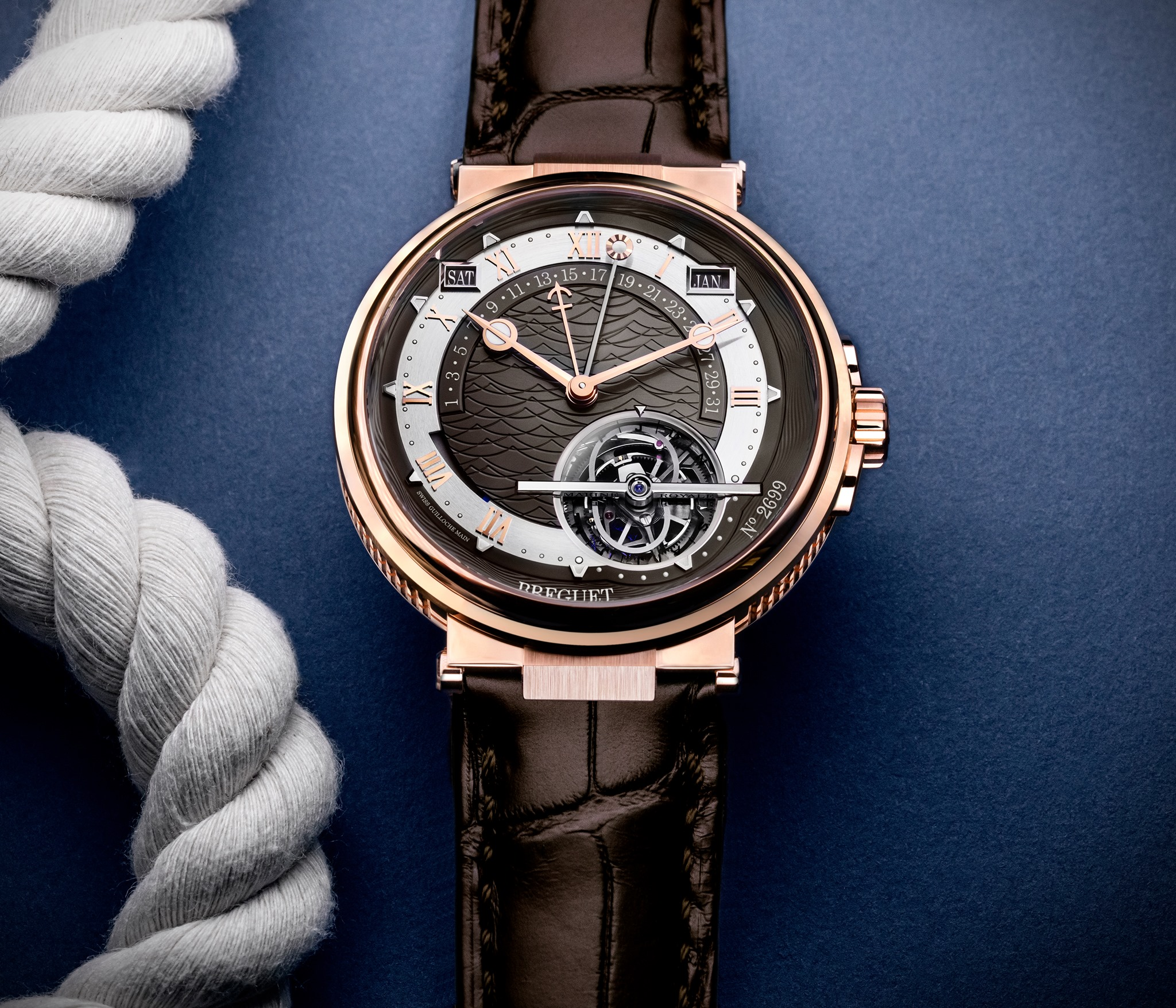 Breguet Marine Equation Marchante 5887-