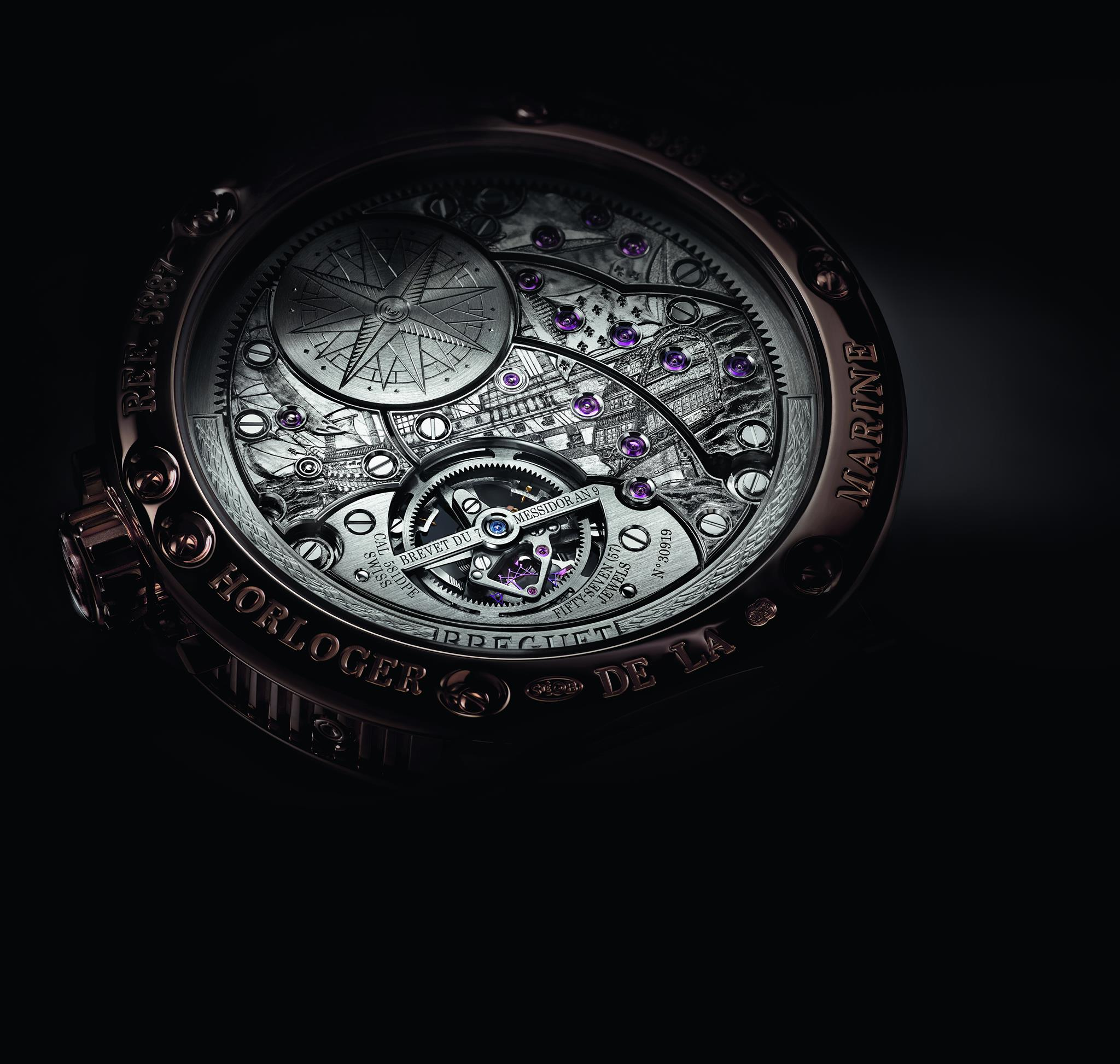 Breguet Marine Equation Marchante 5887-movimiento