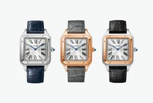 Cartier Santos-Dumont XL tres modelos