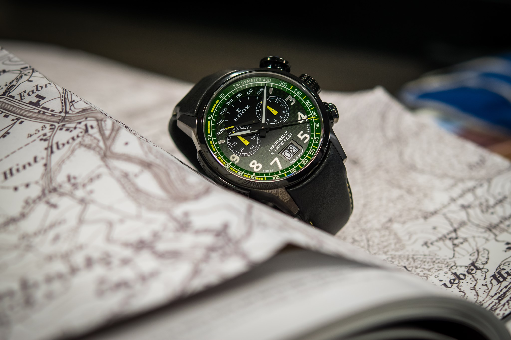 Edox Chronorally X-Treme Pilot Limited Edition 2020