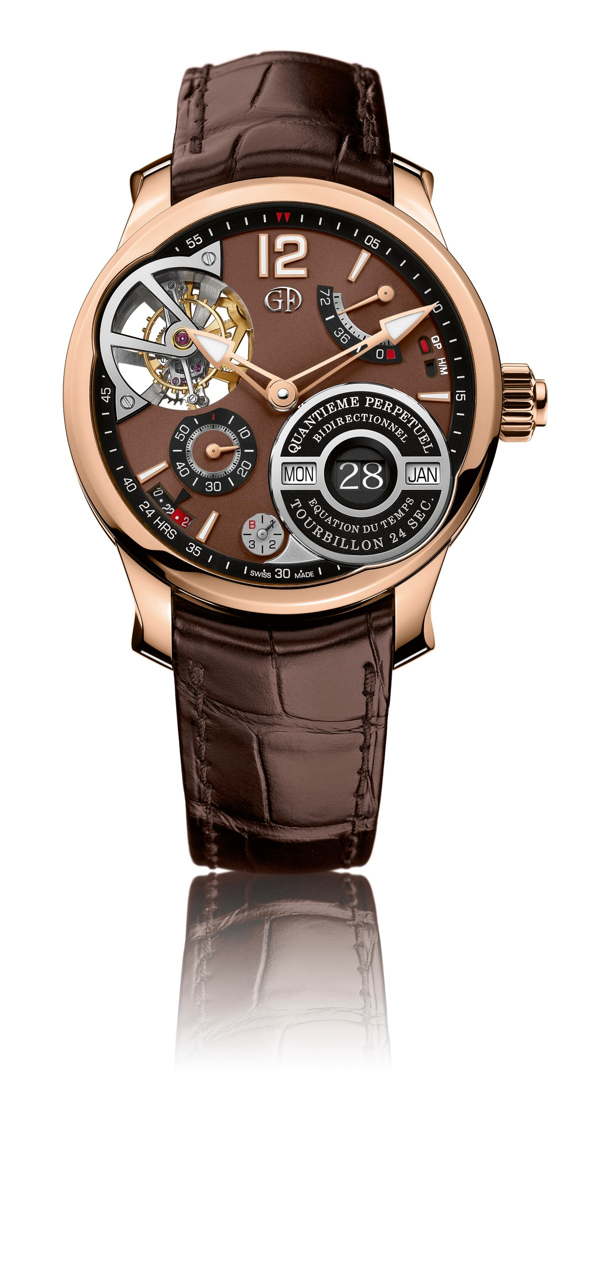 Greubel Forsey QP a Equation-Rose Gold-pack