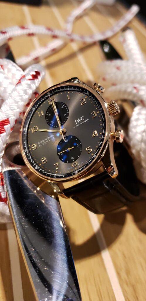 IWC Schaffhausen Portugieser Chronograph 2020-boutique pre Watches and Wonders-