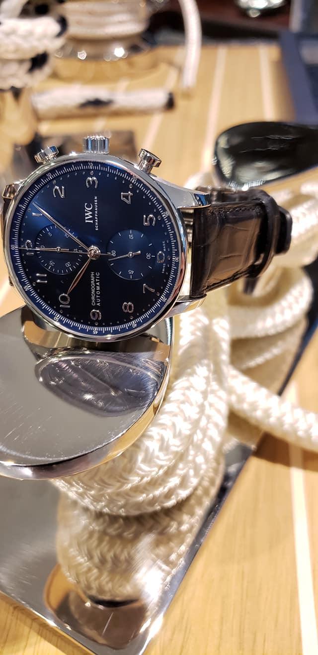 IWC Schaffhausen Portugieser Chronograph 2020-boutique pre Watches and Wonders-4