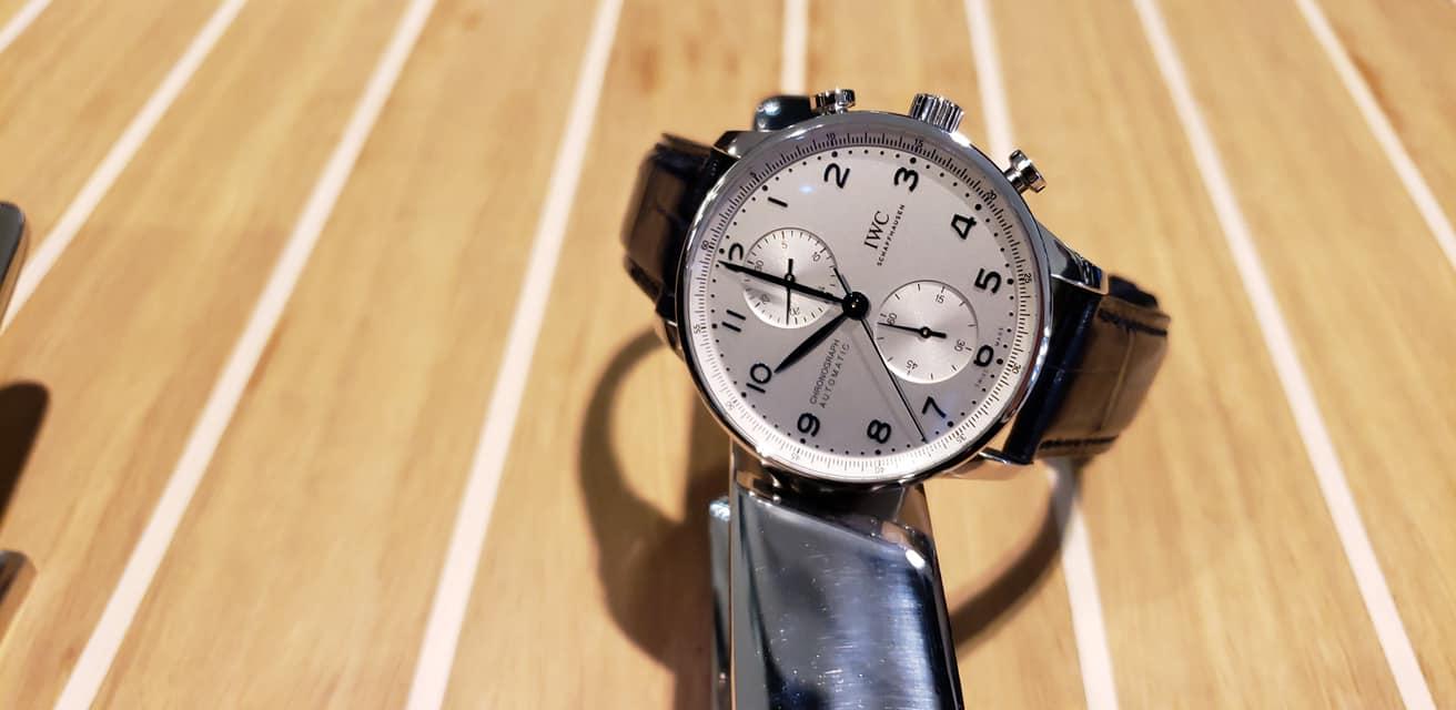 IWC Schaffhausen Portugieser Chronograph 2020-boutique pre Watches and Wonders-7