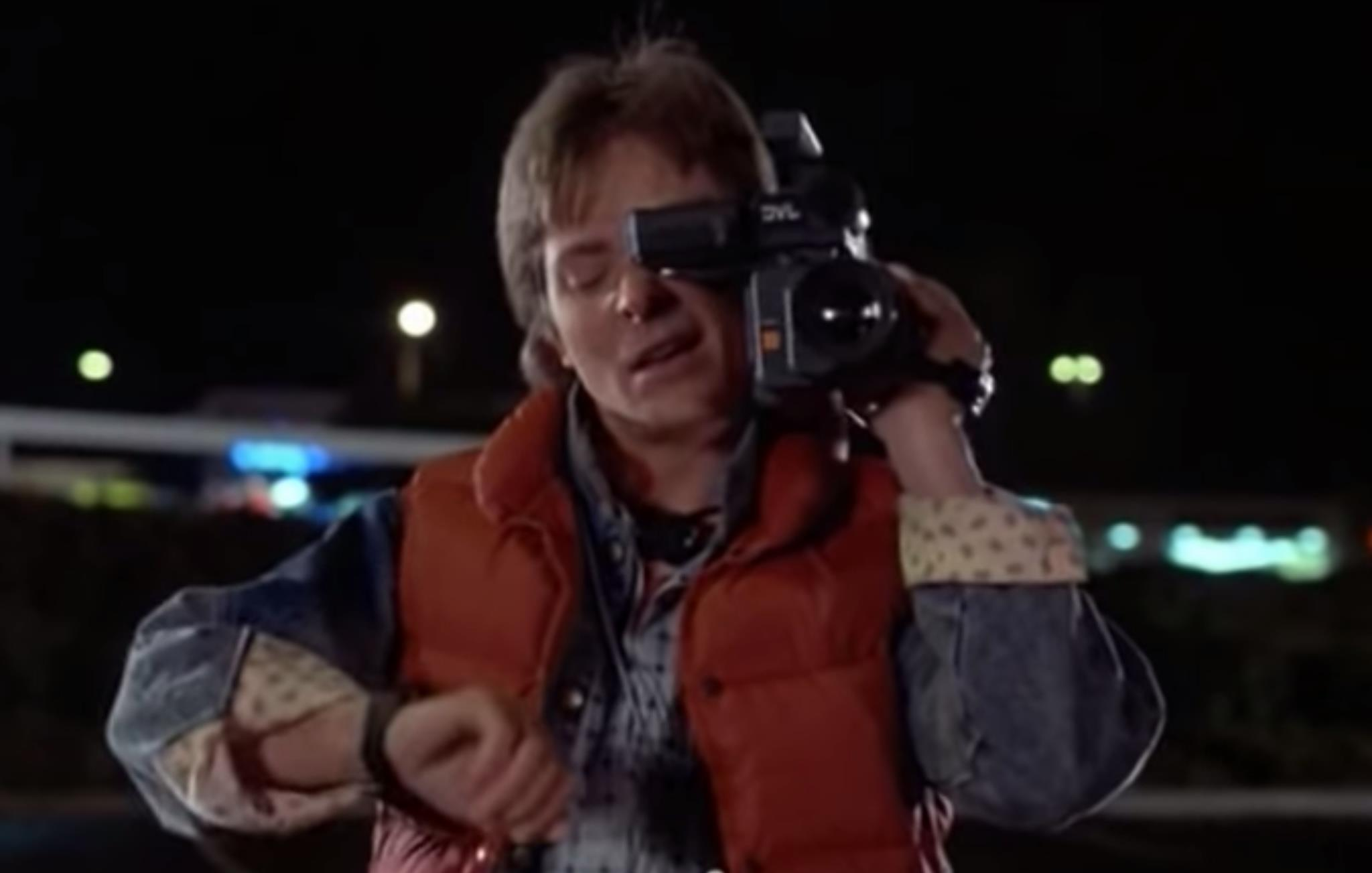 Marty McFly Casio Calculadora CA-53W-1Z-Back to the Future