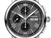 Montblanc Star Legacy Chronograph Day Date-brazalete de acero
