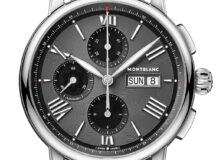 Montblanc Star Legacy Chronograph Day Date-crono acero y caratula antracita