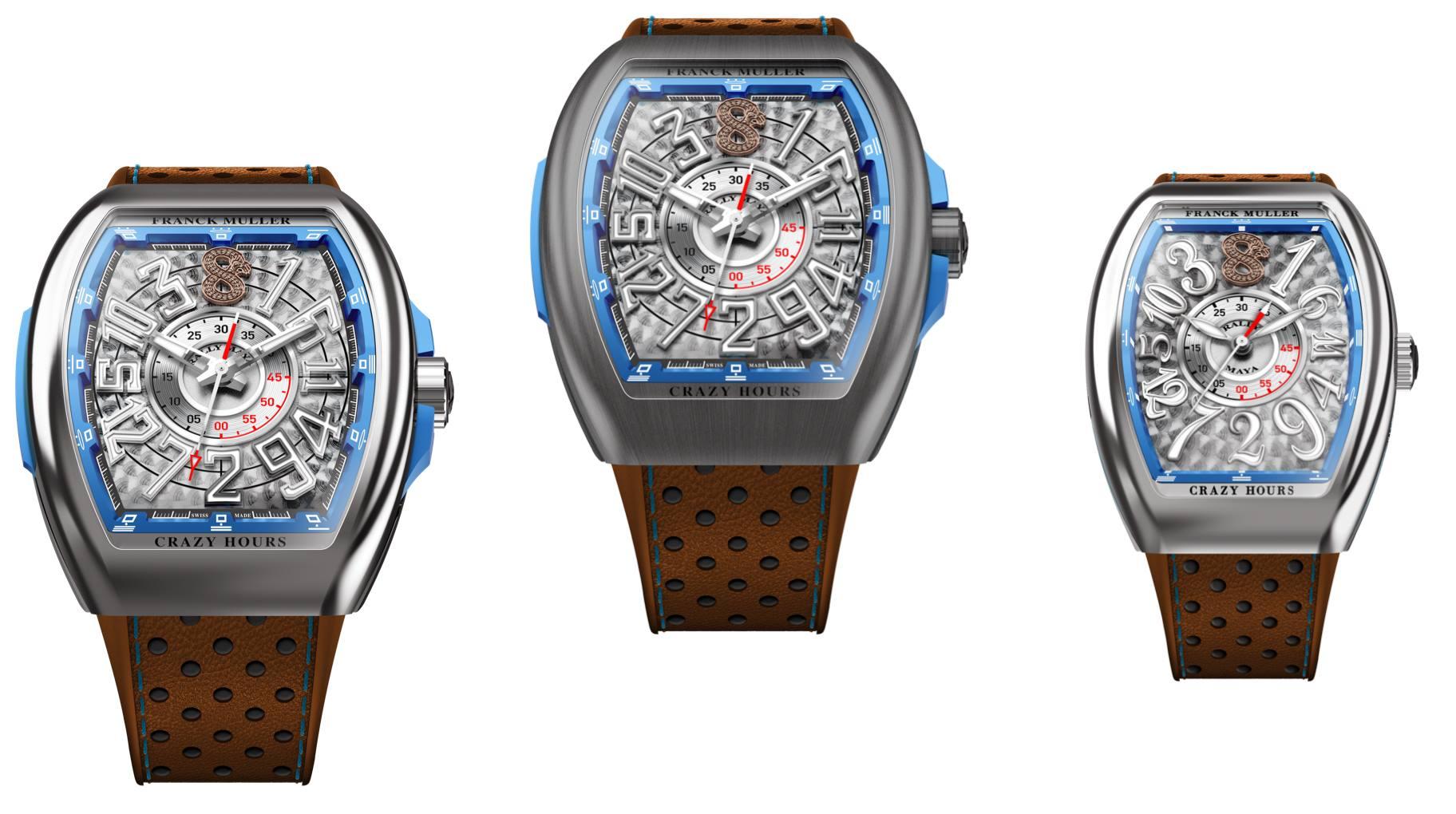 Reloj del Rally Maya 2020 - Franck Muller Vanguard Crazy Hours