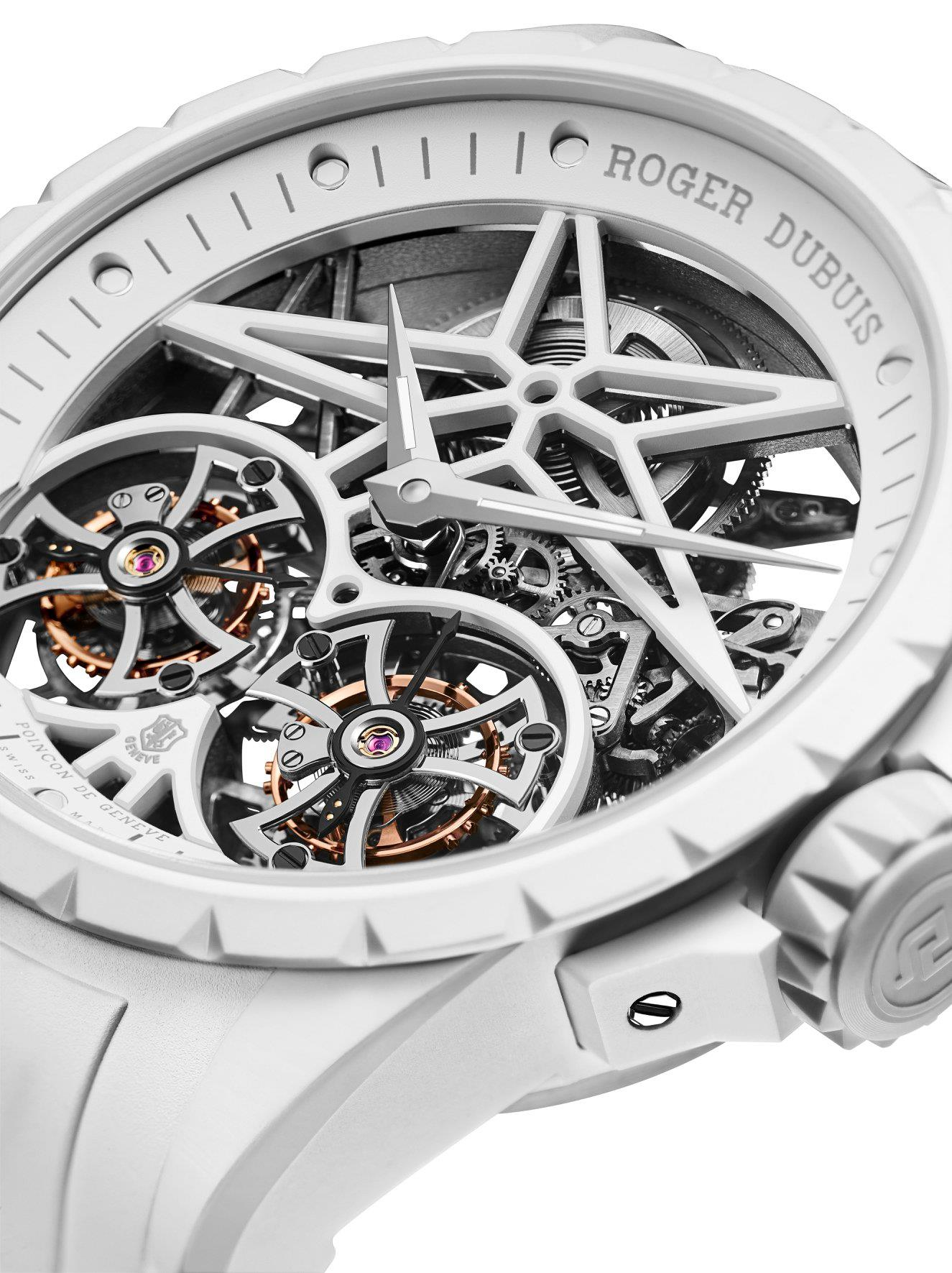 Roger Dubuis Excalibur TwoFold-blanco
