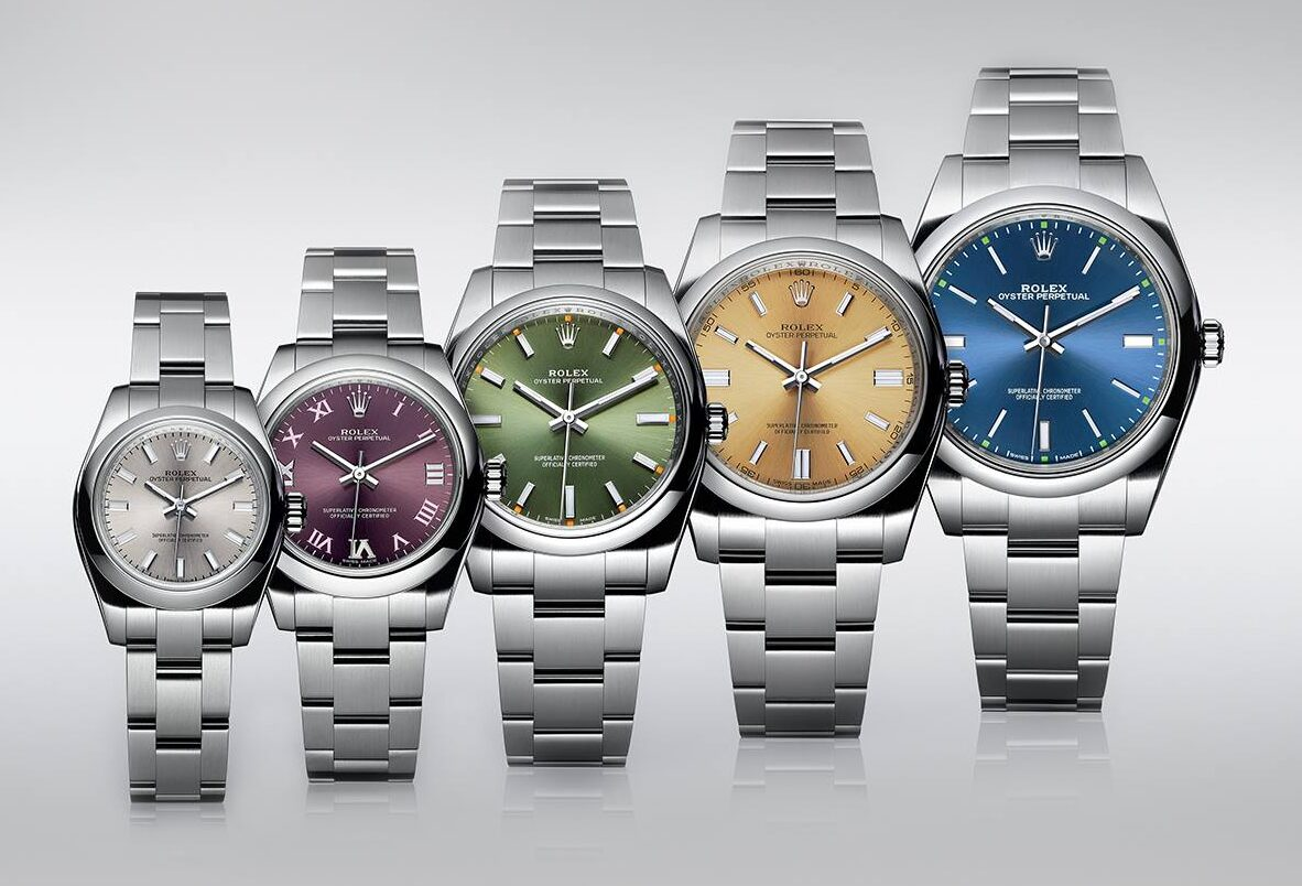 Rolex Oyster Perpetual collection -
