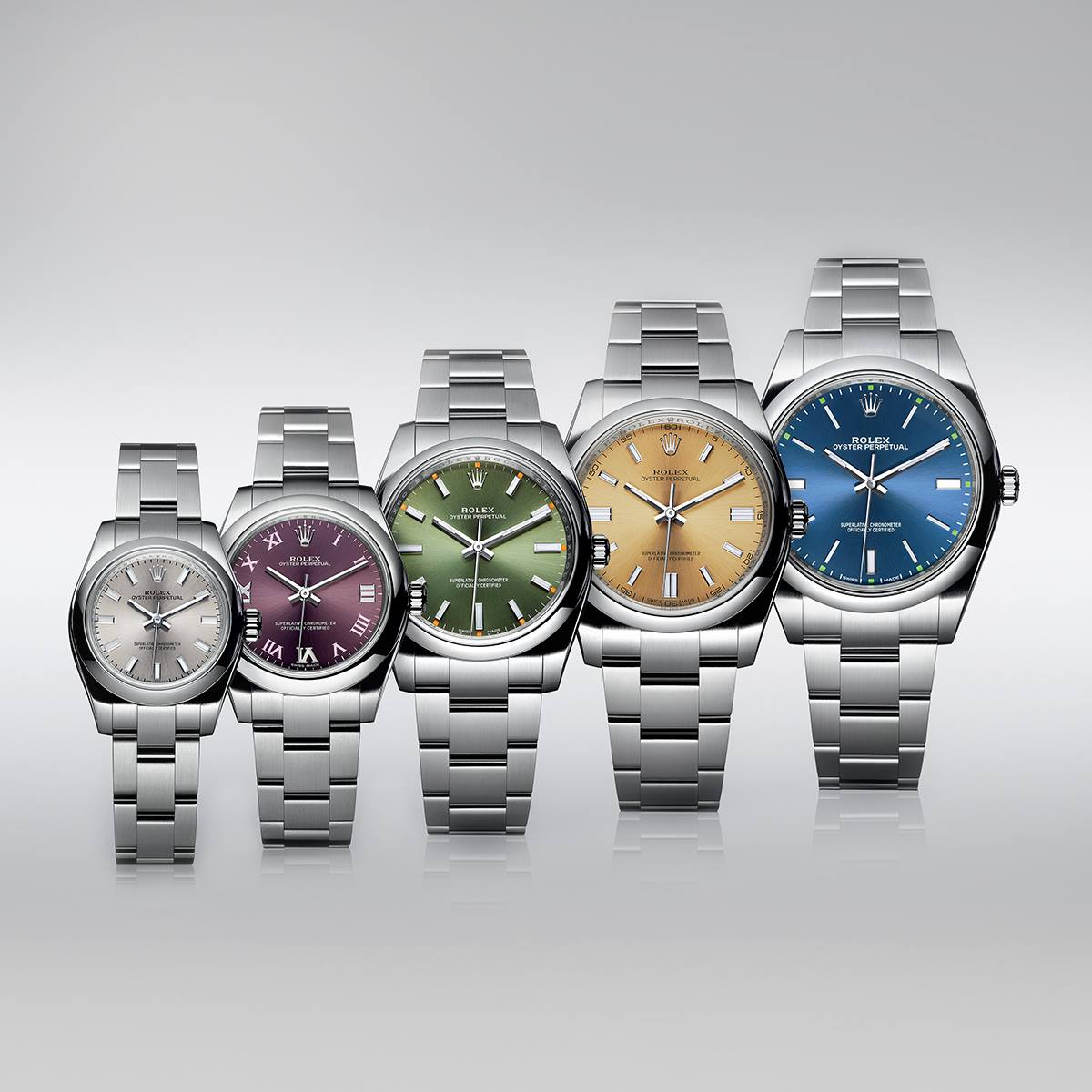 Rolex Oyster Perpetual collection-
