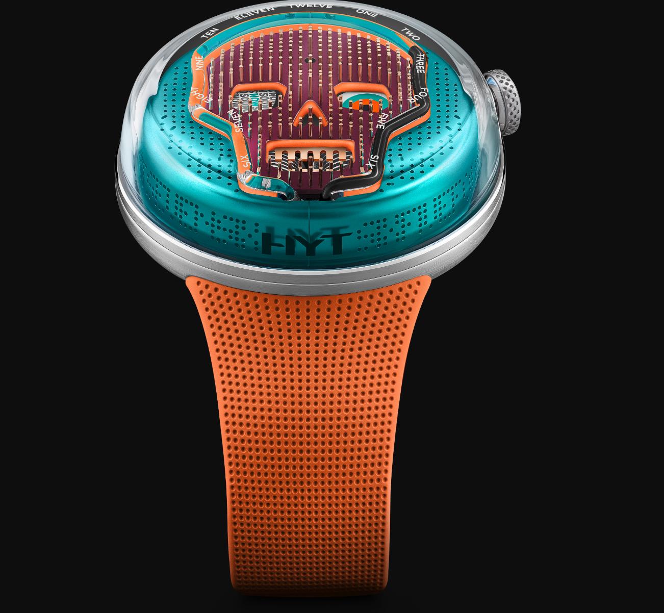 El nuevo reloj de HYT se llama Soonow Drop Three
