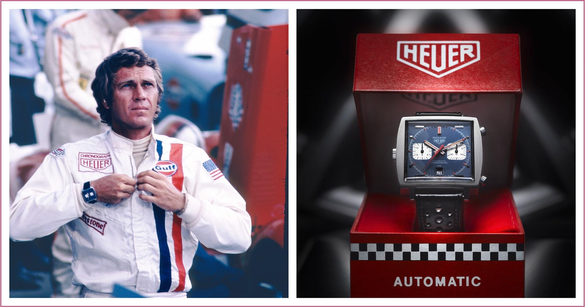 Steve McQueen TAG Heuer Monaco- 90 years