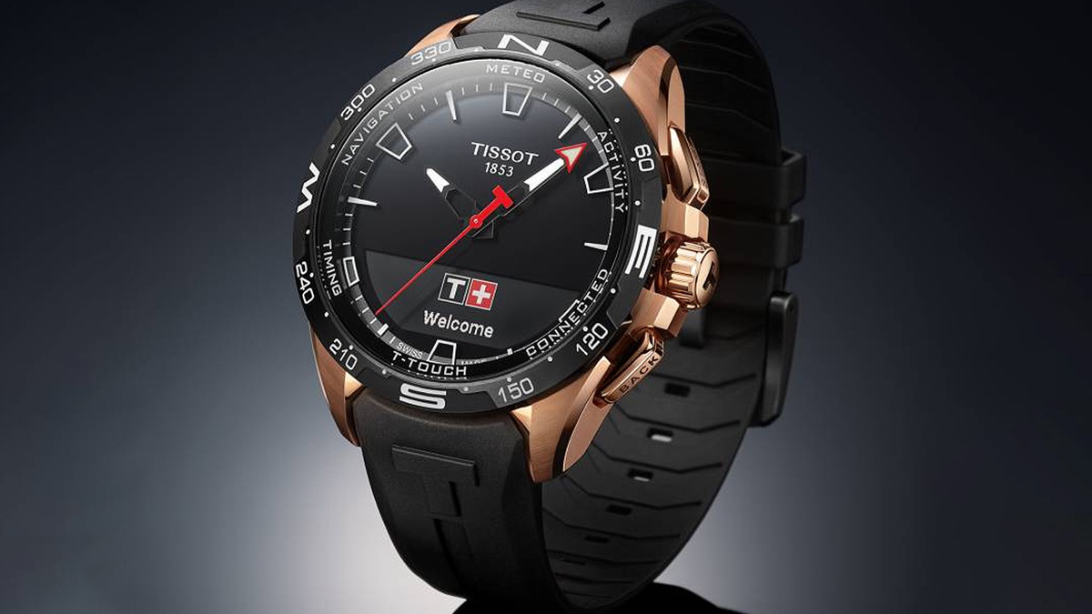 Tissot T-Touch Connected Solar feature